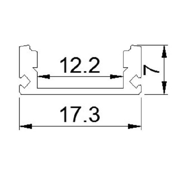 Thanh LED định hình AP1707